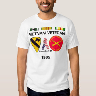 Veterano 1965 de Vietnam Poleras