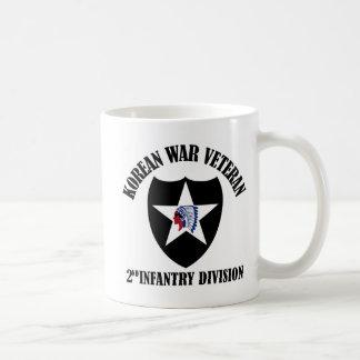 Veterano de Guerra de Corea - 2da identificación Taza De Café