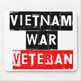 veterano de guerra de Vietnam Tapete De Ratones