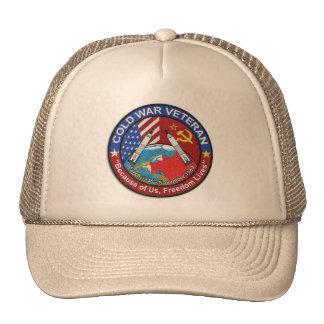 Veterano de guerra fría gorras