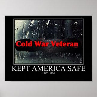 Veterano de guerra fría poster