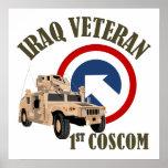 Veterano de Iraq - 1r COSCOM Impresiones