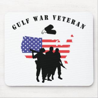 Veterano de la guerra del Golfo Tapete De Raton