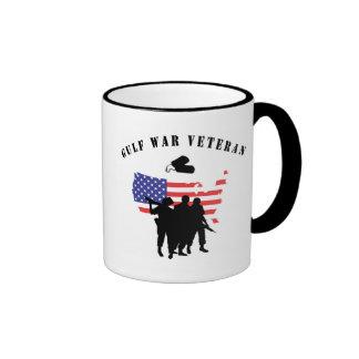 Veterano de la guerra del Golfo Taza