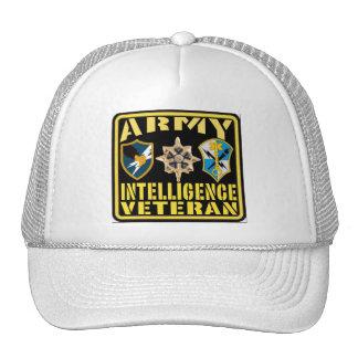 Veterano de la inteligencia del ejército gorras