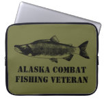 Veterano de la pesca del combate de Alaska Funda Portátil