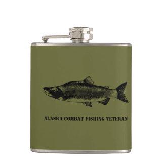 Veterano de la pesca del combate de Alaska