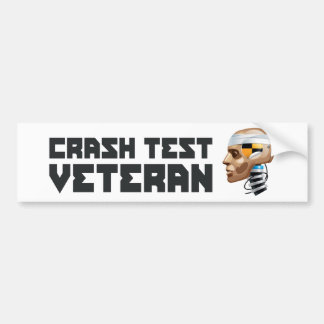 Veterano de la prueba del desplome pegatina para auto