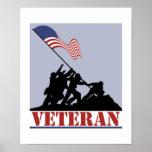 Veterano de los E.E.U.U. Posters