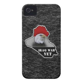 Veterano de los militares de la guerra de Iraq Case-Mate iPhone 4 Fundas