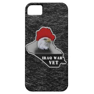 Veterano de los militares de la guerra de Iraq Funda Para iPhone 5 Barely There