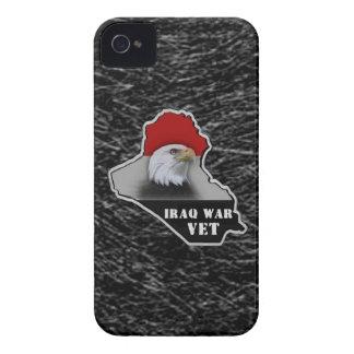 Veterano de los militares de la guerra de Iraq iPhone 4 Case-Mate Carcasa
