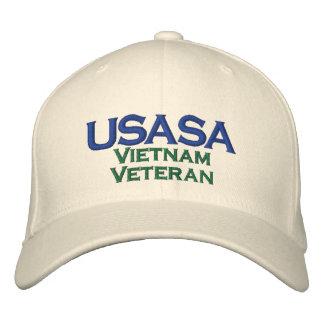 Veterano de USASA Vietnam Gorra De Béisbol Bordada