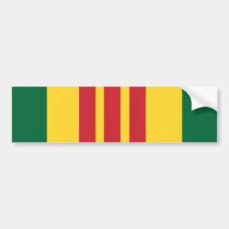 Veterano de Vietnam Pegatina De Parachoque