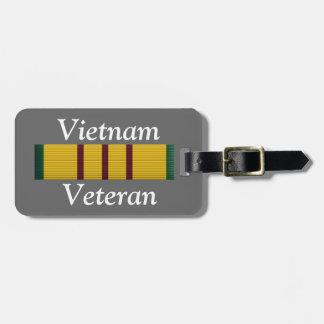 Veterano de Vietnam - etiqueta del equipaje Etiquetas De Equipaje