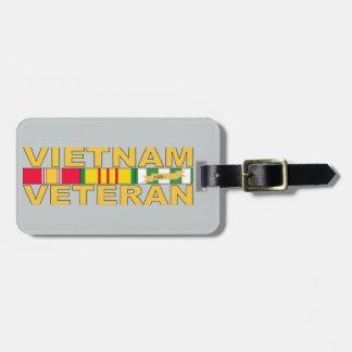 Veterano de Vietnam Etiqueta Para Maleta
