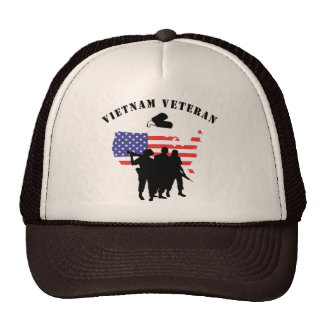 Veterano de Vietnam Gorras