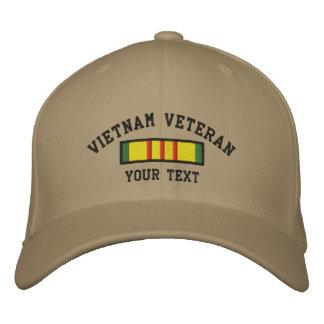 Veterano de Vietnam Gorras De Beisbol Bordadas