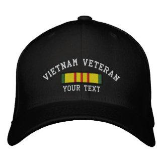 Veterano de Vietnam Gorro Bordado