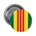 Veterano de Vietnam Pin Redondo 5 Cm