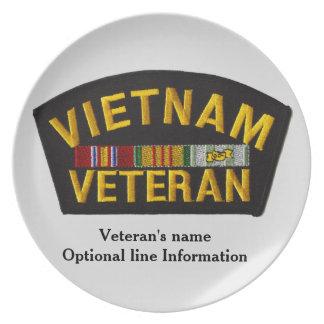 Veterano de Vietnam - placa decorativa Platos