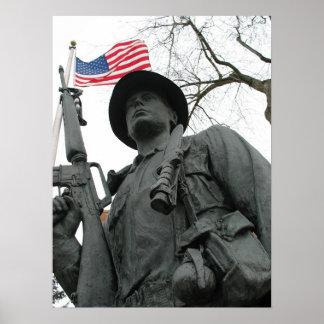 Veterano de Vietnam Póster