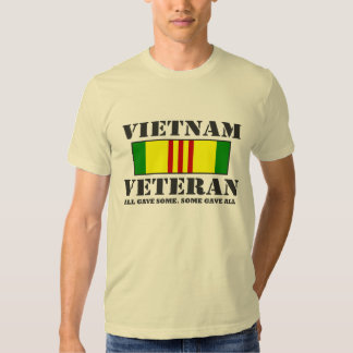 Veterano de Vietnam Remeras