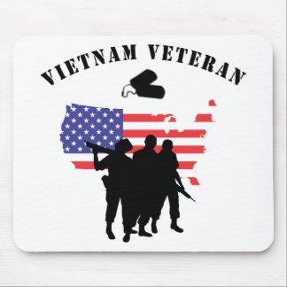 Veterano de Vietnam Tapete De Ratones