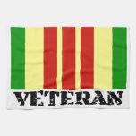 Veterano de Vietnam Toalla De Mano