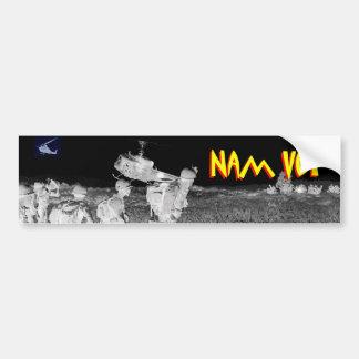 Veterano de Vietnam - veterinario 2 de Nam Pegatina Para Auto