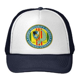 Veterano del ASA Vietnam Gorros Bordados