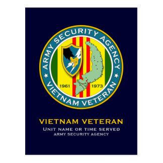 Veterano del ASA Vietnam Postales