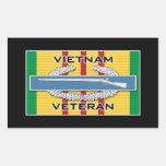 Veterano del CIB Vietnam Rectangular Altavoz