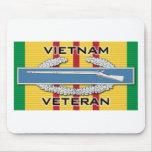 Veterano del CIB Vietnam Tapete De Ratones