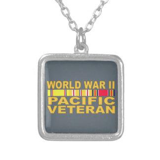 Veterano del Pacífico de la Segunda Guerra Mundial Colgante Cuadrado
