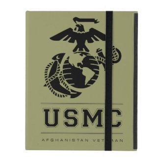Veterano del USMC Afganistán iPad Carcasas