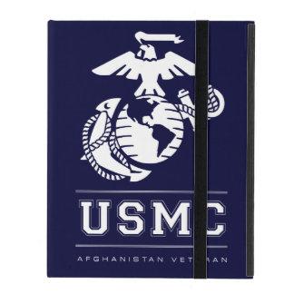 Veterano del USMC Afganistán iPad Protectores