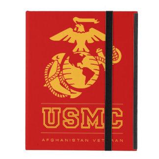 Veterano del USMC Afganistán iPad Coberturas