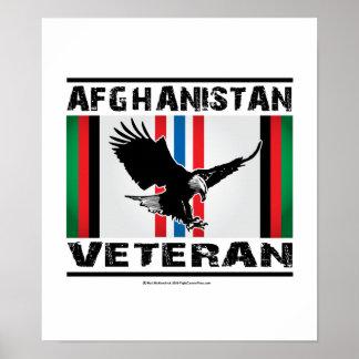 Veterano Eagle 2 de Afganistán Póster
