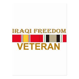Veterano iraquí de la libertad postal