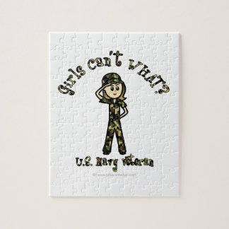 Veterano ligero de la marina de guerra puzzles con fotos