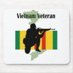 Veterano Mousepad de Vietnam Alfombrilla De Raton