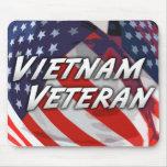 Veterano Mousepad de Vietnam Alfombrillas De Ratón