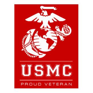 Veterano orgulloso del EGA Tarjeta Postal