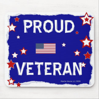 Veterano orgulloso - en honor - Mousepad
