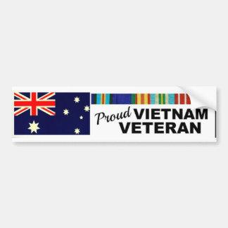 Veterano orgulloso pegatina para auto