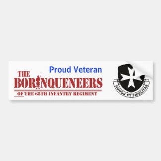 Veterano orgulloso - pegatina para el parachoques etiqueta de parachoque