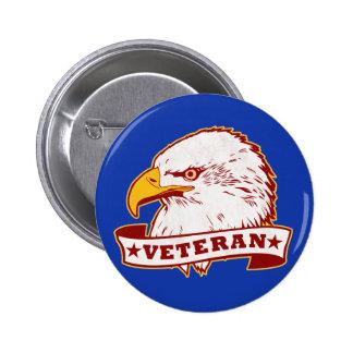 Veterano Pin Redondo 5 Cm