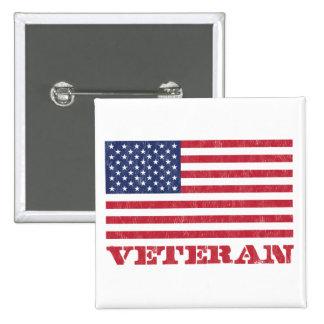 veterano pin cuadrado