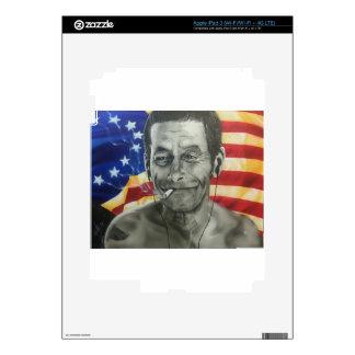 Veterano sin hogar pegatina skin para iPad 3